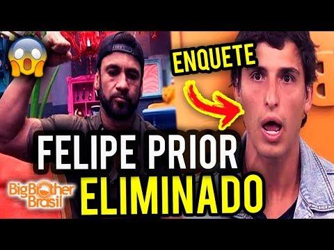 BBB 20: Enquete já Aponta O ELIMINADO entre Hadson e Felipe - Paredão 11/02/2020
