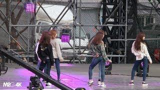 [직캠] 180224 에이프릴 ( 리허설2 손을 잡아줘 ) - K-POP World Festa