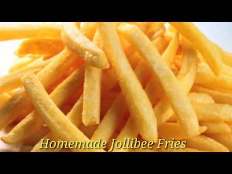 HOMEMADE JOLLIBEE FRENCH FRIES|Lorry Fe TV