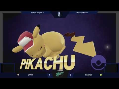 [FD7] Winners Finals - 24914 (Robin, Corrin) vs XMagas (Pikachu) - SSB4 Singles