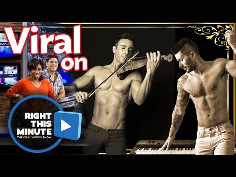 """Right This Minute"" - Shirtless Duet - Viral Video Show - Shirtless Violinist"