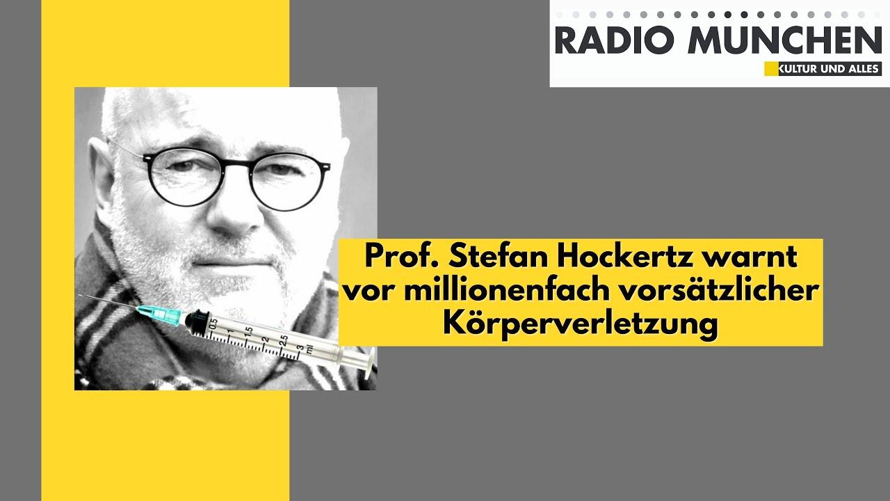 Prof. Stefan Hockertz warnt vor millionenfach vorsätzlicher Körperverletzung
