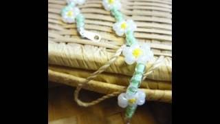 How to Start and Finish Your Jewelry Strung on Thread Using Bead Tips - Jewelry-making Technique