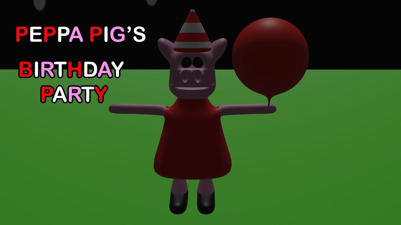 Peppa Pig's Birthday Party