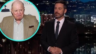 Jimmy Kimmel Sobs During Touching Tribute to Don Rickles Stephen Colbert & Seth Meyers Pay Respec…