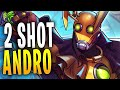 ANDROXUS 2 SHOT REVERSAL RESET! | Paladins Gameplay