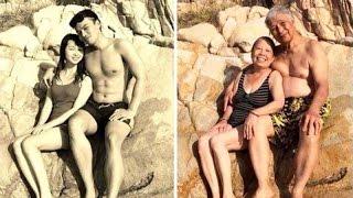 22 Pasangan Mengkreasi Ulang Foto Lama Mereka, Bukti Cinta Sejati itu Nyata
