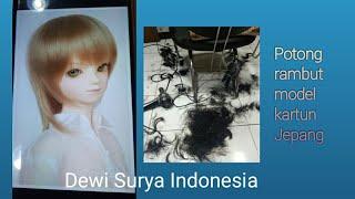 Potong rambut model ANIME JAPAN