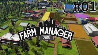 Farm Manager 2018 - Construção e Gestão da Fazenda! ep 01