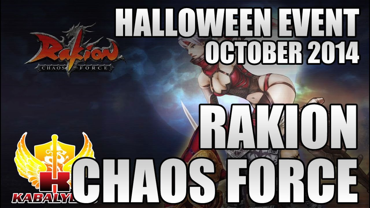 Rakion Halloween Event, October 2014