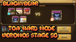 summoners war toa hard veromos boss stage 50