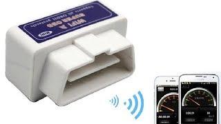 ELM327 Wi-Fi Диагностический сканер для автомобилей из Китая. Обзор.