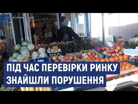 Суспільне Кропивницький: У Кропивницькому перевірили один з ринків  Знайшли порушення