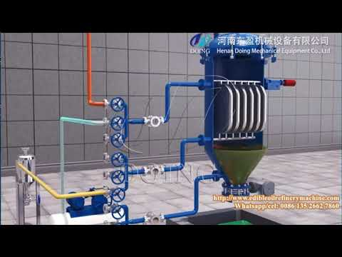 Bleaching Process Of Edible Oil Used In Batch Type Vegetable Oil Refinery Plant