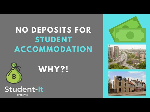 Why Don't Some Student Accommodations Charge a Deposit