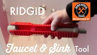 Ridgid Faucet & Sink Installer (Fast Faucet Fixes!!) -- by Home Repair Tutor