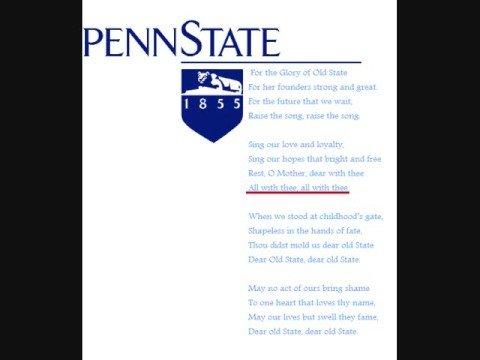 Penn State Alma Mater