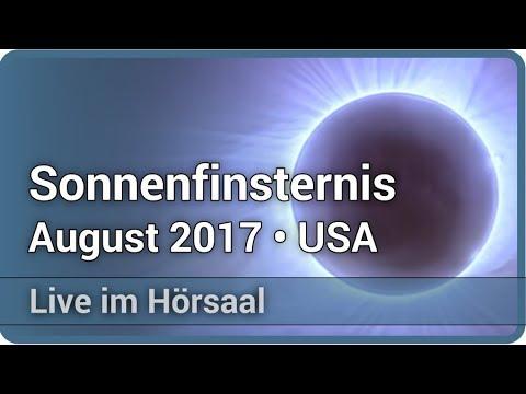 Totale Sonnenfinsternis 21. August 2017 In Den USA • Live Im Hörsaal | Bernd Gährken