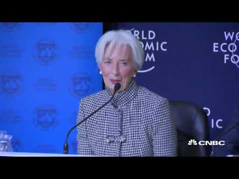 Policies must encourage collaboration to address risks, IMF's Lagarde says | World Economic Forum