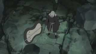 naruto,kakashi,gai killer bee vs obito new divide linkin park