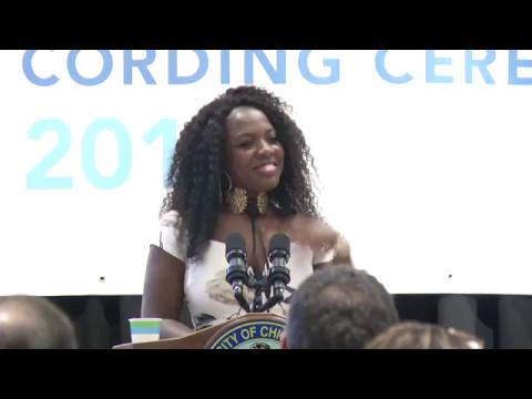 Star Scholar Cording Ceremony May 10, 2017