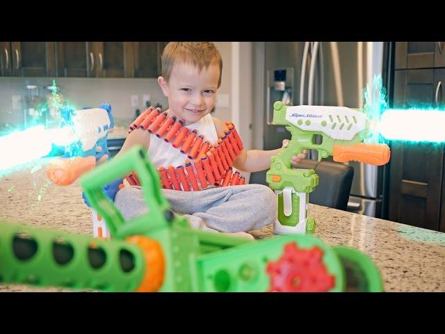 Nerf War: Gun BABY 7!