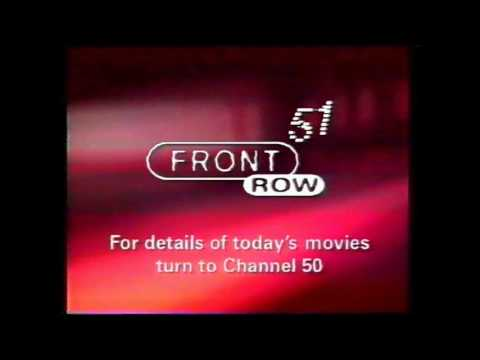 Front Row Movies Channel 51 Analogue 1999