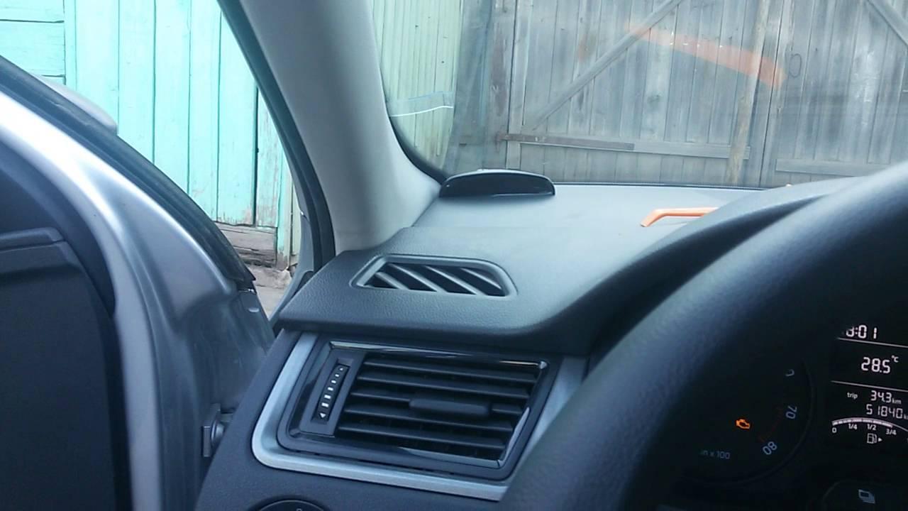 Установка парктроника в Skoda Rapid