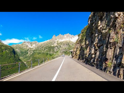 Driving the Susten Pass, Switzerland