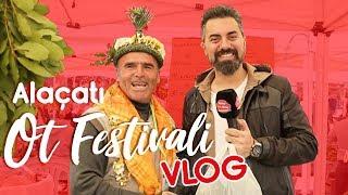 Vlog - Turgay Başyayla ile Alaçatı Ot Festivali turu. Hem gezdi hem yedi!