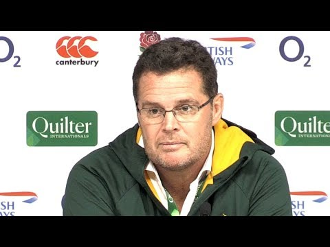 England v South Africa - Rassie Erasmus & Siya Kolisi Post Match Press Conference