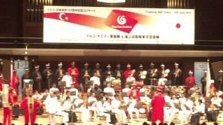 メフテル「トルコ・オスマン軍楽隊」東京公演 Mehter TOKYO 2015