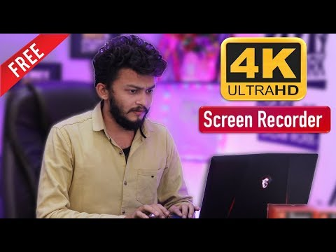 Best Free Screen Recorder For Windows Or Mac || Record In 4k And Full HD