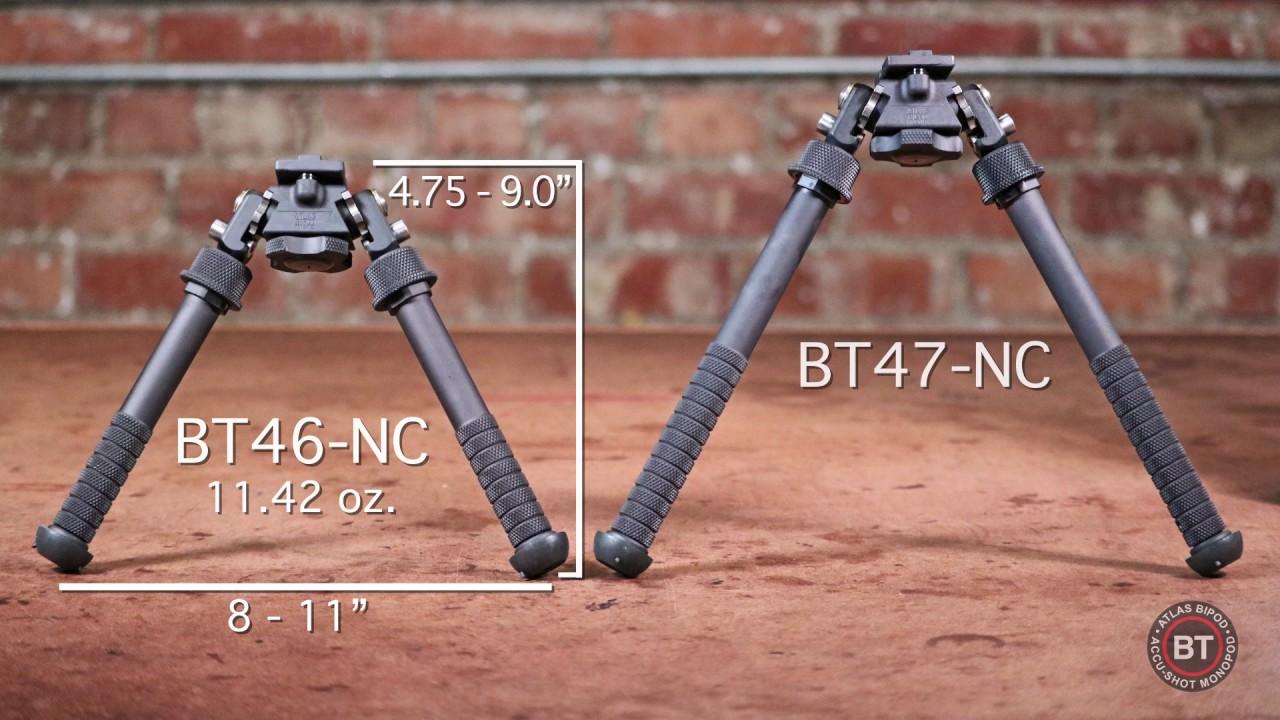Atlas Bipode BT70 M-Lok Adattatore per NC Bipods