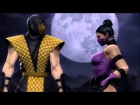 MK9 Scorpion and Mileena retro costumes - MK9 Gamestop Ad ...