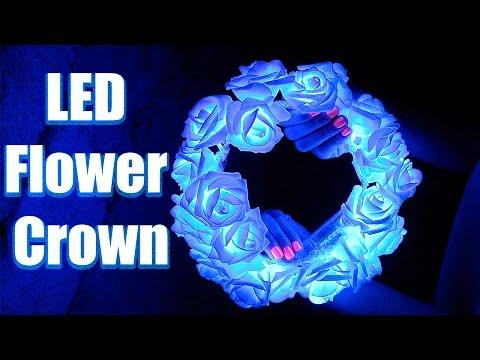 ♛ DIY: LED Flower Crown ♛ / TUTORIAL ✿