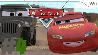 Cars:The Videogame - part 4 - Wii - Going to BOOT CAMP!