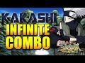 Naruto Storm Revolution - Kakashi Endless/Infinite Combo Tutorial
