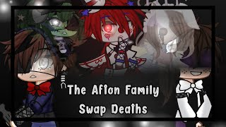 |The Afton Family Switch Deaths| •Gacha Club Mini Movie•