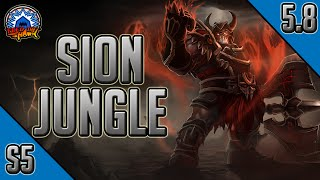 League of Legends - Warmonger Sion Jungle - Full Game Commentary with Friends