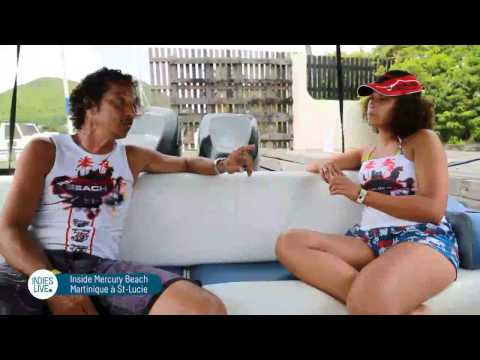 Reportage sur le Mercury Beach Martinique 2014 by Indies Live