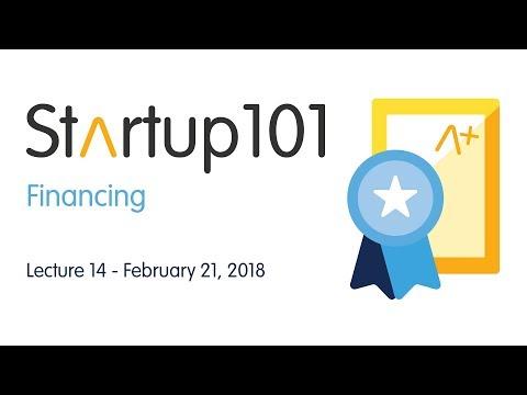 Financing – Startup 101 2017/18