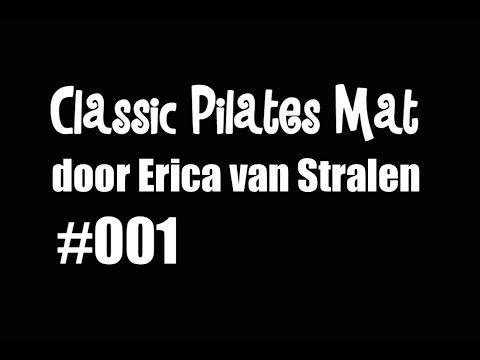 #001 Pilates Mat Serie - 34 original exercises - Advanced