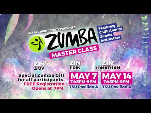 All Night Study Zumba Master Class!
