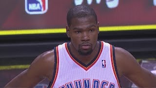 Repeat youtube video 2014.01.29 - Kevin Durant Full Highlights at Heat - 33 Pts, 7 Reb, Duel With LeBron