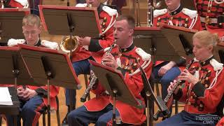 """GRAINGER Irish Tune from County Derry - """"The President's Own"""" U.S. Marine Band - Tour 2018"""