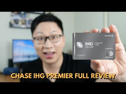 Chase IHG Premier Review: Up To $640 Bonus