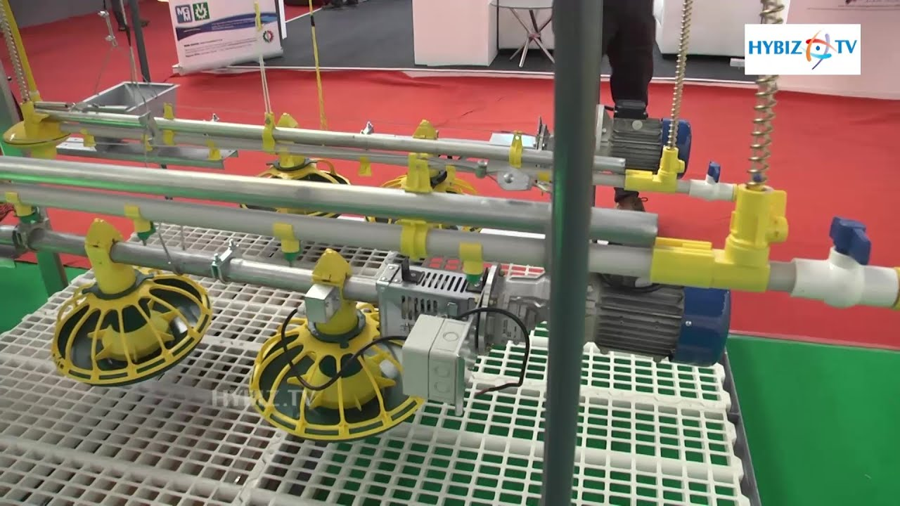 Valco poultry feeding systems at Poultry India 2015