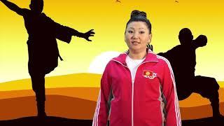 Видео-урок по ушу на кыргызском языке. Техника работы с саблей дао. Урок № 1
