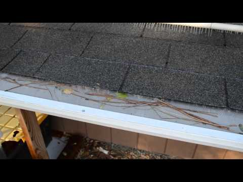 Noleafs Micro Mesh Rain Gutter Guard Youtube